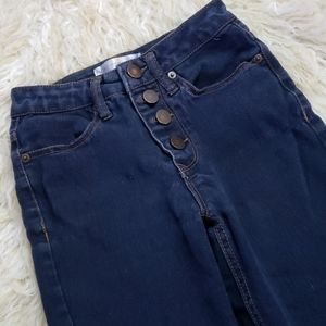 No Boundaries Button Fly  jeans size 1 NoBo